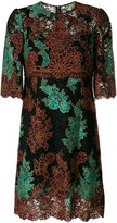 Dolce & Gabbana floral embroidered lace dress