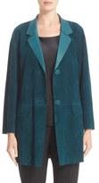 Lafayette 148 New York 'Carson' Suede Jacket