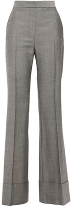 Stella McCartney Textured-wool Flared Pants
