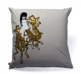 Pin It Upper Playground Jumping Tiger Pillow