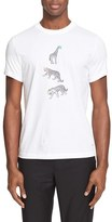 Paul Smith Men's Animal Print T-Shirt
