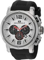 Oceanaut Men's OC2120 Spider Analog Display Quartz Black Watch