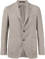 Tagliatore two-button jacket - men - Linen/Flax/Cupro/Wool - 54