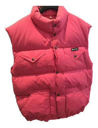 Pyrenex Pink Cotton Leather jackets