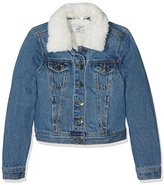 New Look 915 Girl's Borg Denim Jacket