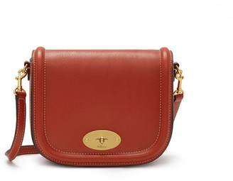 Mulberry Small Darley Satchel Rust Silky Calf