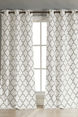 Duck River Textile Mason Grommet Pair Curtain - Set of 2 - Taupe