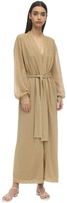 Oseree Lumiere Lurex Robe Cover Up