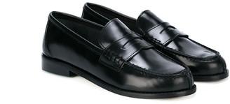 Prosperine Kids Leather Slip-On Loafers