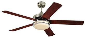 Westinghouse Hercules Supreme Ceiling Fan - Dark Pewter/Chrome
