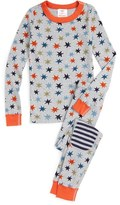Hanna Andersson Organic Cotton Fitted Two-Piece Pajamas
