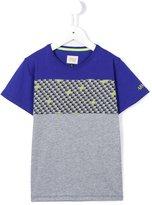 Armani Junior monogram print T-shirt