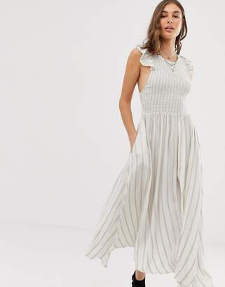 Free People Butterfly maxi dress-White