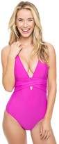 Athena Cabana Solids Cross One Piece