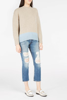 Brock Collection Two-Tone Cashmere Karey Jumper