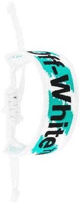 Off-White Logo Macrame Bracelet