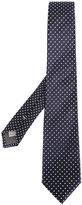 Canali polka dots tie - men - Silk - One Size