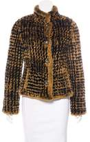 Cassin Knit Fur Jacket