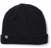 Herschel Buoy Black Thick Knit Beanie