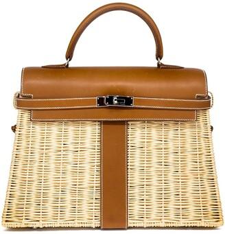 Hermes Pre-Owned 2011's Kelly 35cm picnic bag