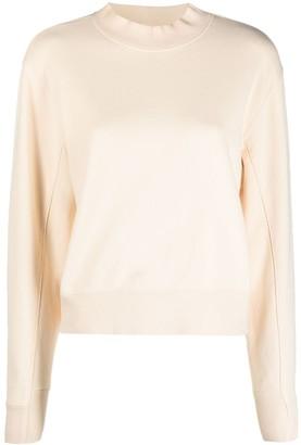 Puma Mock-Neck Cotton Sweatshirt