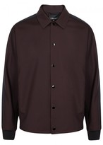 3.1 Phillip Lim Burgundy Wool Jacket