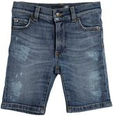 Dolce & Gabbana Vintage Stretch Denim Shorts
