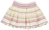 Bellerose Sale - Accent Embroidered Stripe Skirt