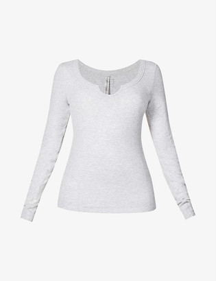 Lorna Jane Serene scoop-neck stretch-jersey top