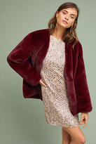 Moon River Jewel Faux Fur Coat