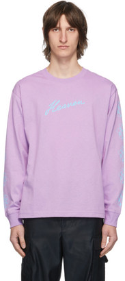Marc Jacobs Purple Heaven by Crazy Daisy Long Sleeve T-Shirt