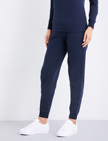 Sunspel Relaxed-fit cotton-jersey jogging bottoms