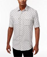 Sean John Men's Ladder Dobby Shirt, Only at Macy's