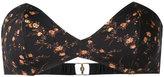 Roseanna Black Blossom bikini top - women - Polyamide/Spandex/Elastane - 38