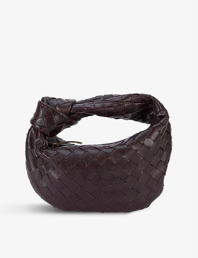 Bottega Veneta The Mini Jodie intrecciato leather hobo bag