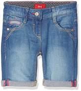 S'Oliver Girl's Bermuda Reg Jean Shorts