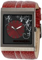 Rockwell Time Unisex MC110 Mercedes Red Leather and Red Watch
