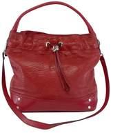 Milly Red Leather Shoulder Bag
