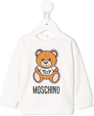 Teddybear logo sweatshirt