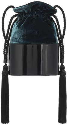 Hunting Season The Lola Small velvet bucket bag