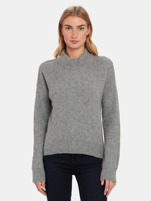 Zadig & Voltaire Eva Mock Neck Cashmere Sweater