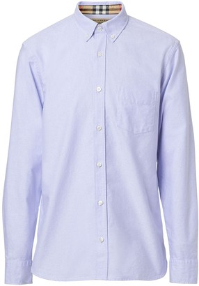 Burberry Button Down Collar Oxford Shirt