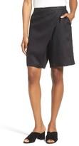 Eileen Fisher Women's Organic Linen Sarong Shorts