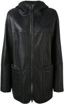 Iris von Arnim oversized coat
