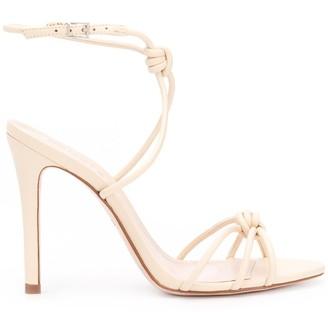 Schutz Knot Detail Stiletto Sandals