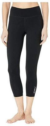 2XU Active Compression 7/8 Tights (Black/Silver) Women's Workout