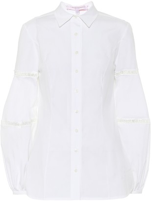 Carolina Herrera Stretch-cotton shirt