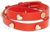 Tory Burch Amore Heart Double Wrap Bracelet Bracelet