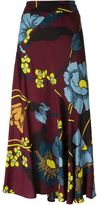 Marni high waisted floral skirt - women - Viscose - 40