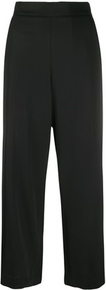 Piazza Sempione High-Waisted Cropped Trousers